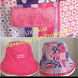 REVERSIBLE SUN PROTECTION BUCKET HAT